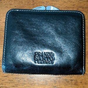 EUC Franco Sarto leather wallet with change purse